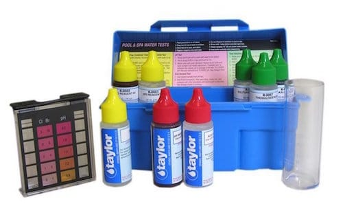 2 Taylor Pool and Spa Water 4-In-1 Test Kit. COMP