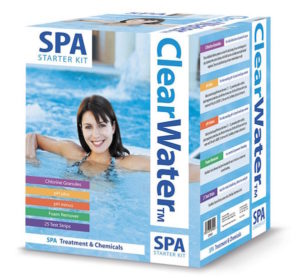 best inflatable hot tub clear water starter