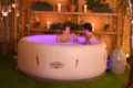 SaluSpa Paris Inflatable Hot Tub w/ LED Light Show