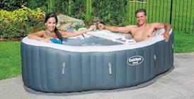 SaluSpa siena inflatable hot tub review