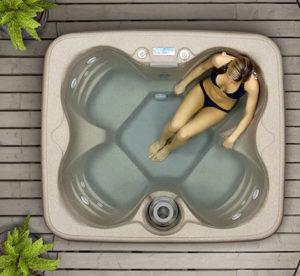 2 Lifesmart hot tub Rock Solid Simplicity