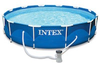 1.2 Intex Metal Frame best above ground pool