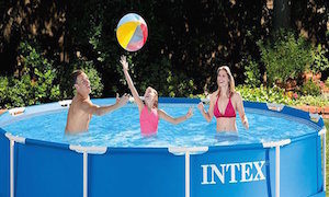 Intex above ground pools small