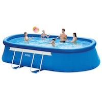 5.1 Intex Oval Frame Pool