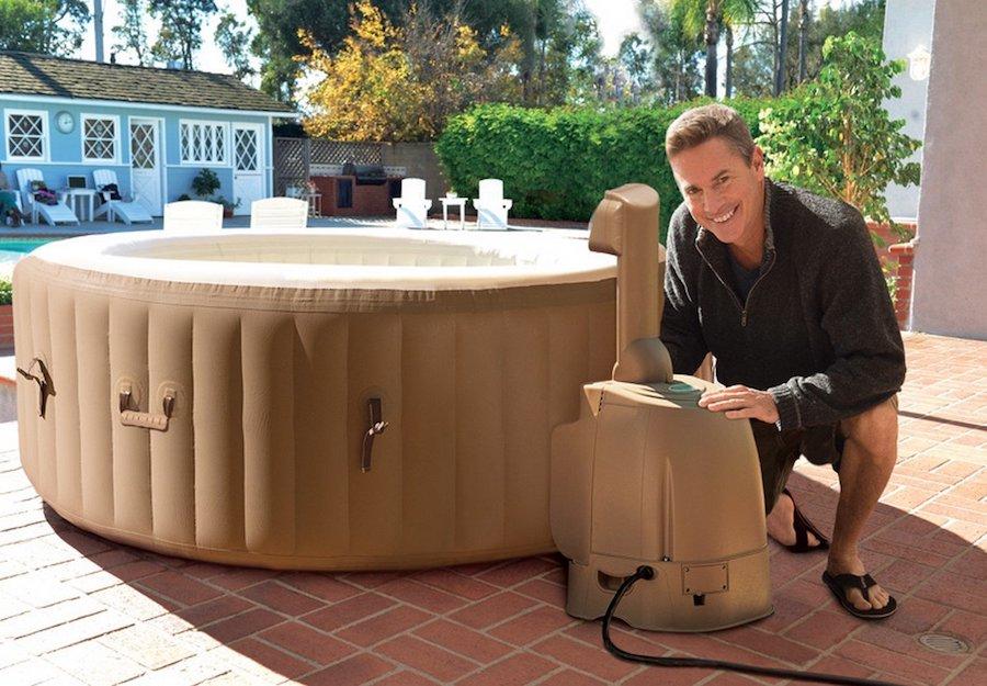 cheap inflatable hot tub portable spas under hot tub guide. Black Bedroom Furniture Sets. Home Design Ideas