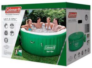 Coleman hot tub BOX