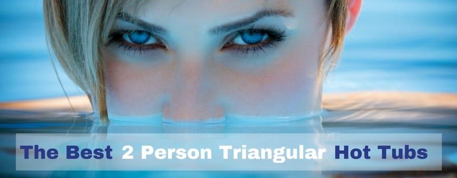 2 Person Hot Tub Triangular comp