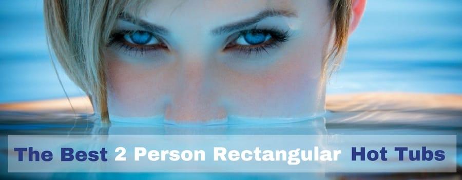 2 Person Hot Tub rectangular. comp