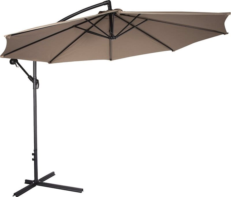Best cantilever umbrella reviews top tips for buying for Best outdoor umbrellas reviews