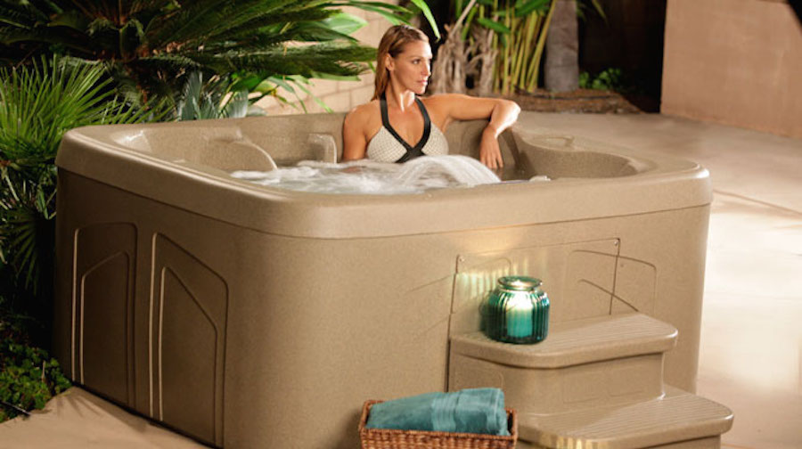 Lifesmart Hot Tub Review Four Person Simplicity Plug And