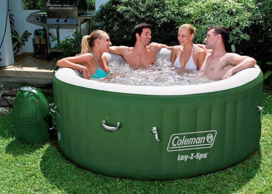 Coleman Hot Tub. Lay-Z-Spa Inflatable Hot Tub Review - Hot Tub Guide
