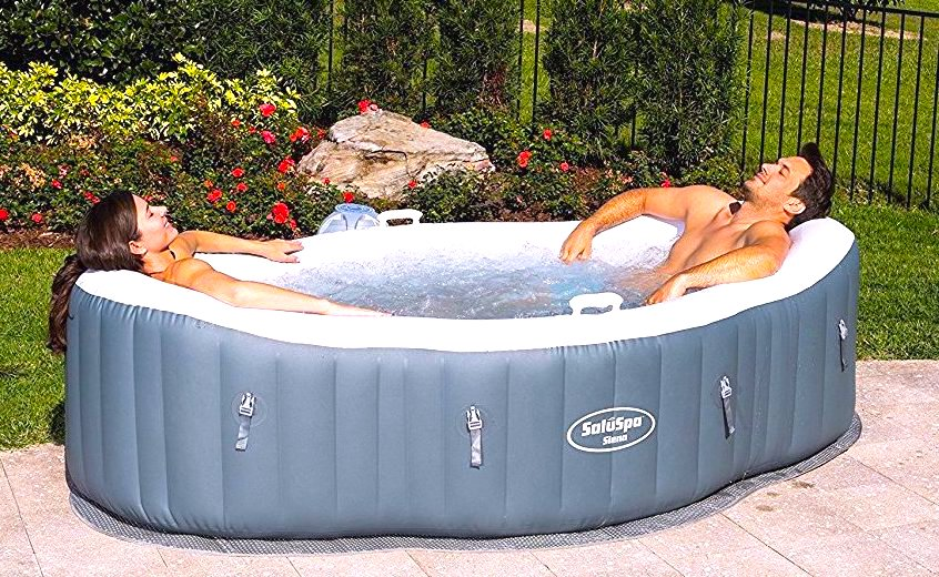 Saluspa Siena Review 2 Person Inflatable Hot Tub Hot