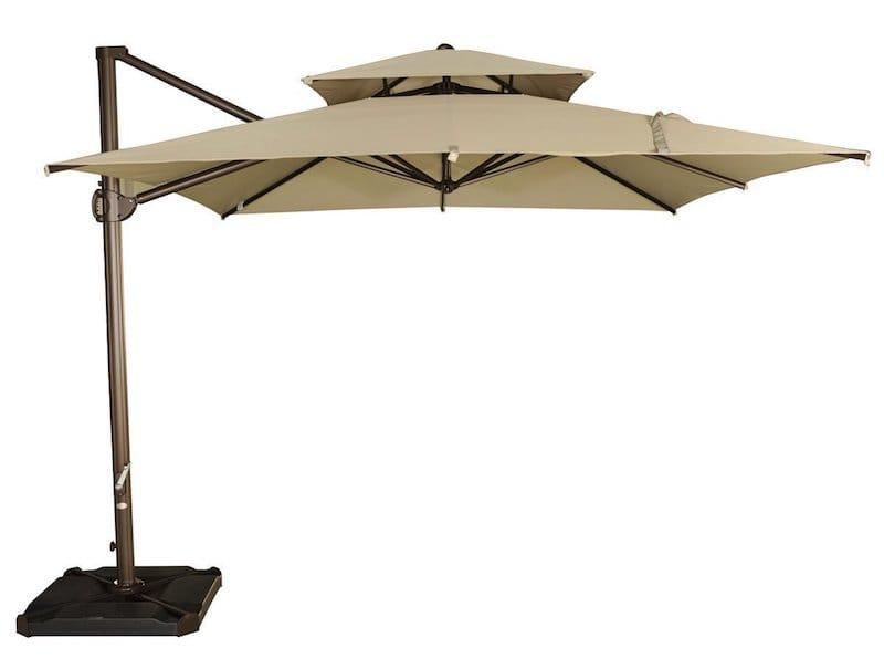 Best Cantilever Umbrella Reviews Top, Articulating Patio Umbrella