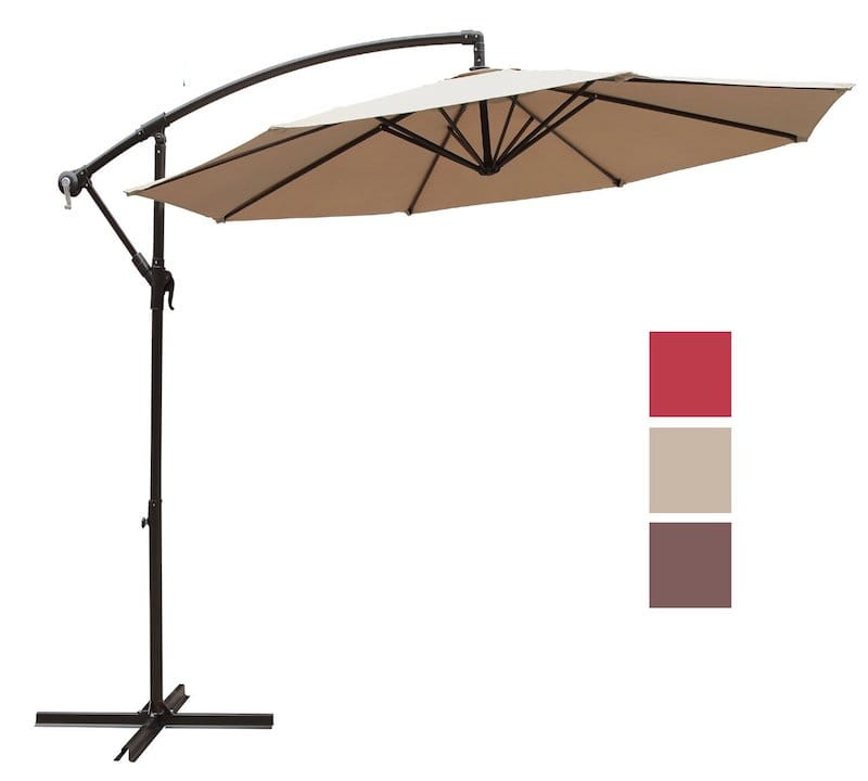 COBANA 10u2032 Cantilever Patio Umbrella