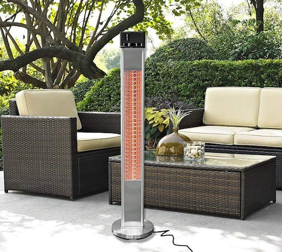 Ener G+ Best Infrared Electric Patio Heater. Ener G+ Free Standing ...